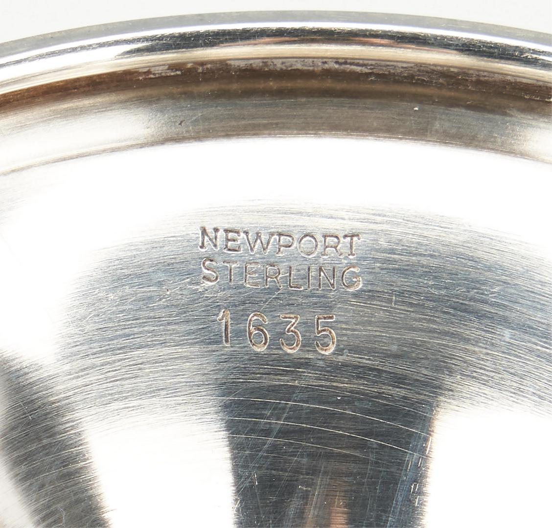 Lot 507: 13 Sterling Silver Goblets, incl. Wallace, Newport