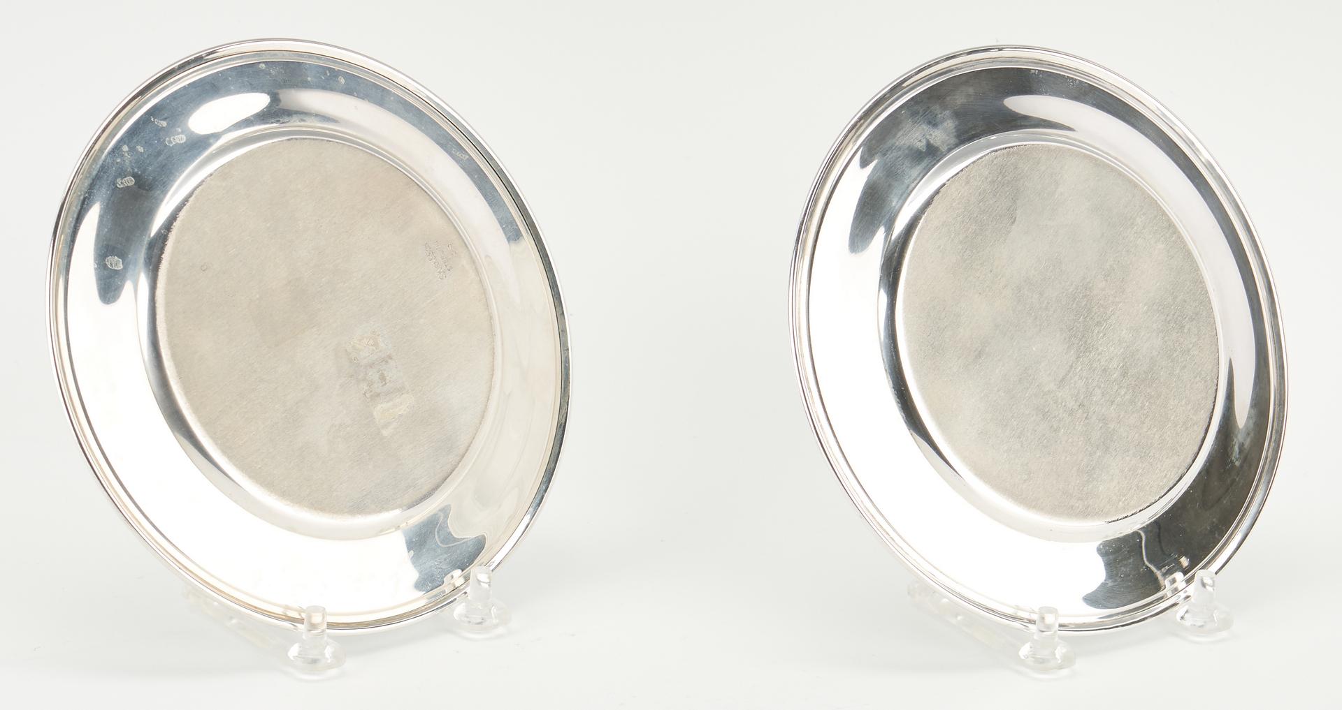 Lot 508: 12 S. Kirk & Son Sterling Silver Bread Plates