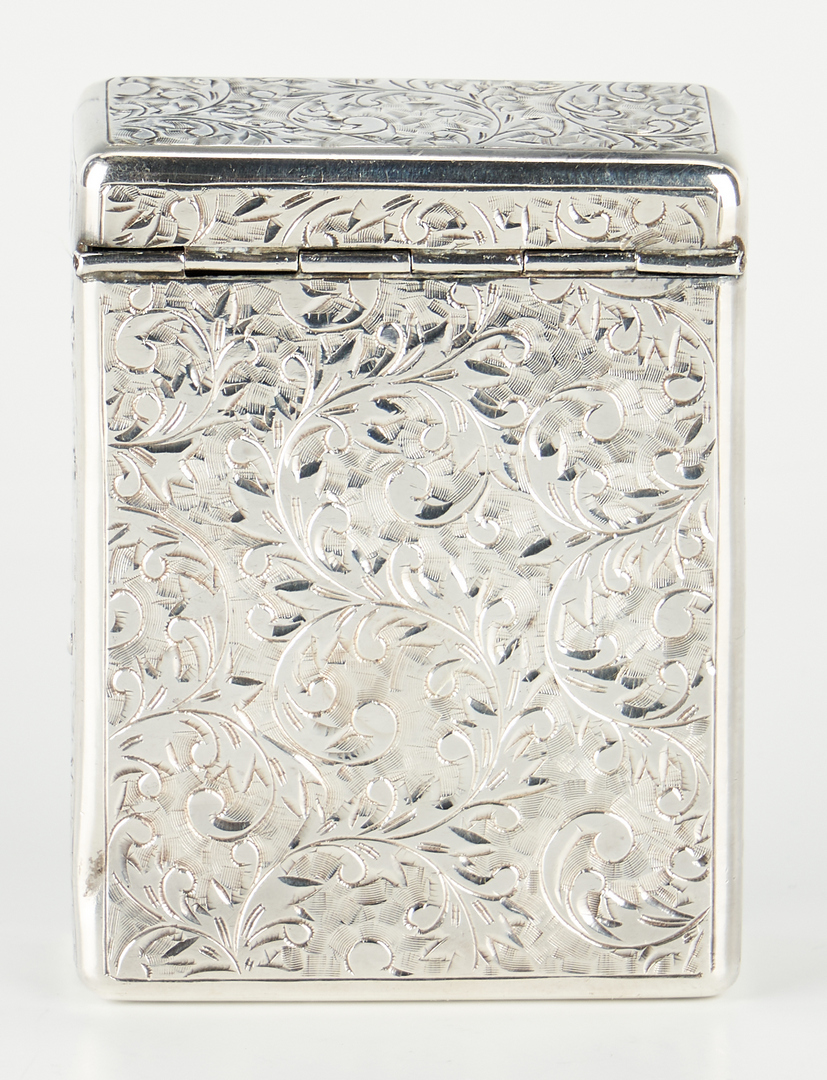 Lot 509: 5 Asst. Sterling Silver Items, incl. Water Lily Tray