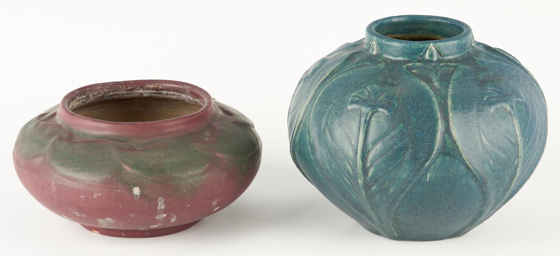 Lot 528: 2 Van Briggle Art Pottery Pieces