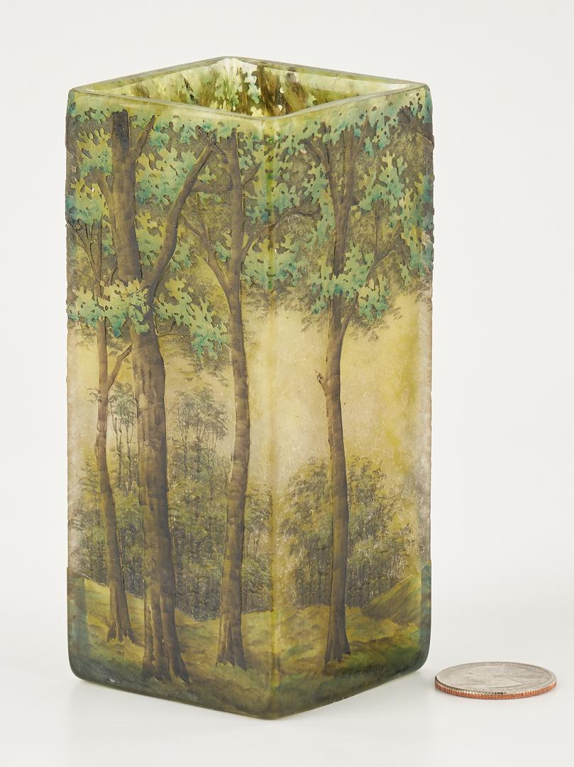 Lot 537: Daum Nancy Art Glass Vase
