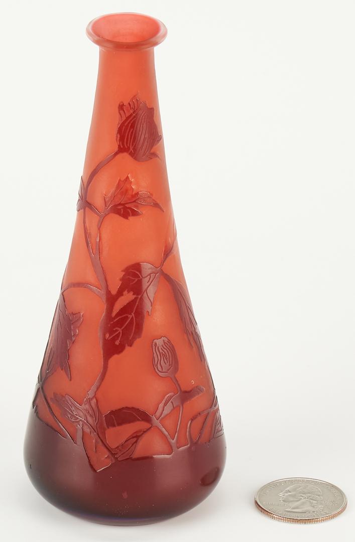 Lot 540: Small Galle Art Nouveau Bud Vase