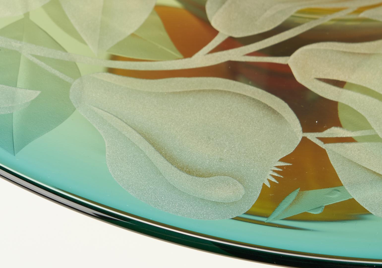 Lot 546: 3 Cynthia Myers Studio Art Glass Vessels