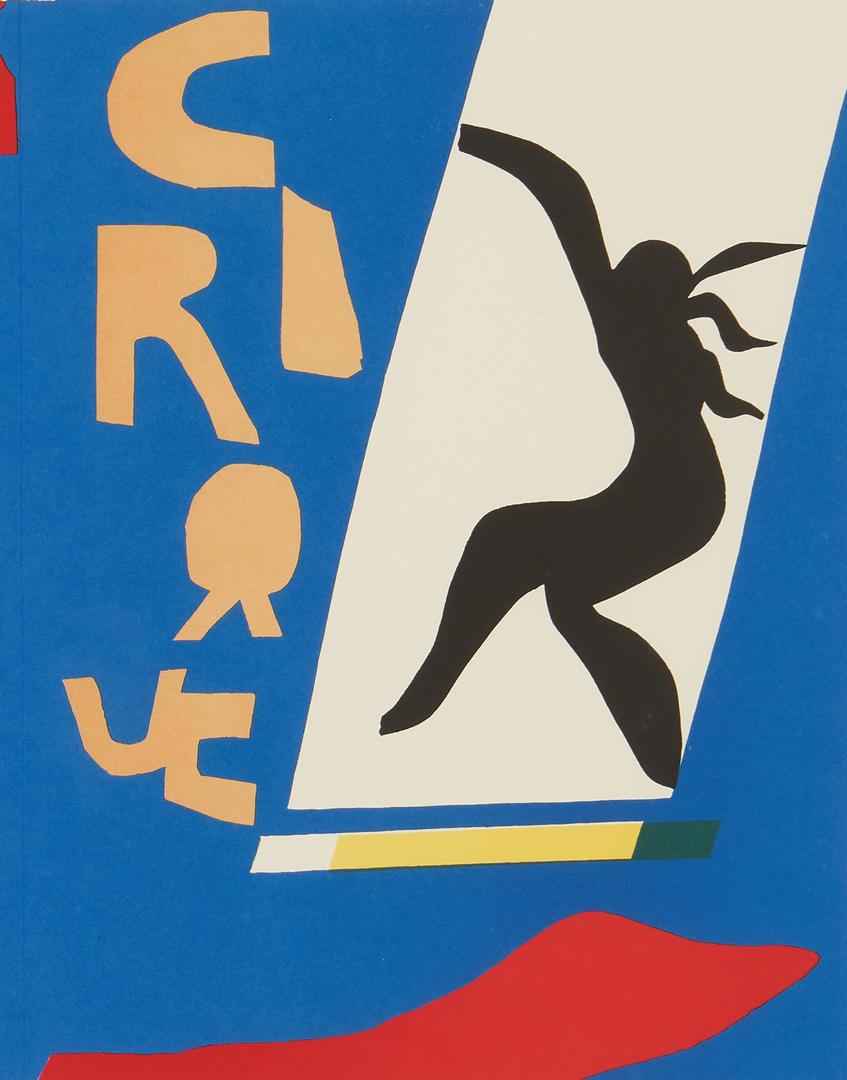 """Lot 553: Matisse """"Jazz"""" Series Portfolio, 20 framed color plates"""