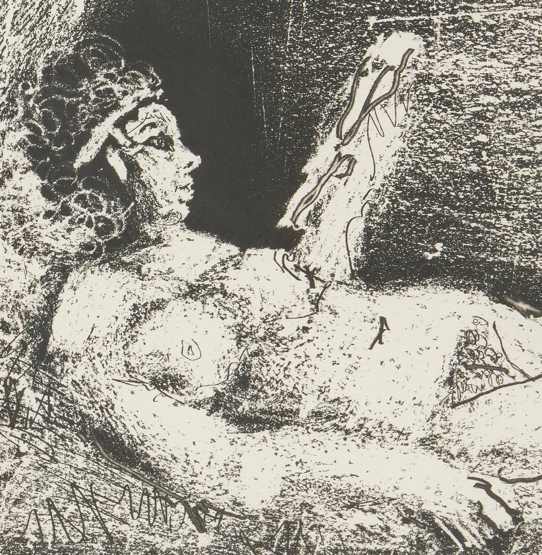 Lot 555: Framed Picasso Print, Cocu Magnifique