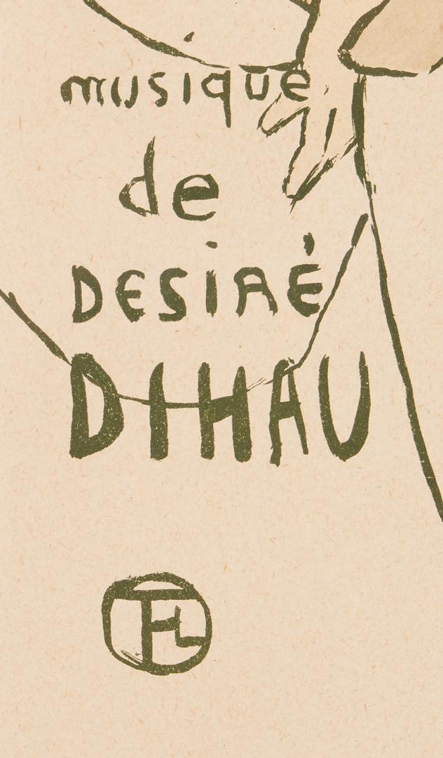 Lot 557: Toulouse Lautrec Lithograph, Le Petit Trottin