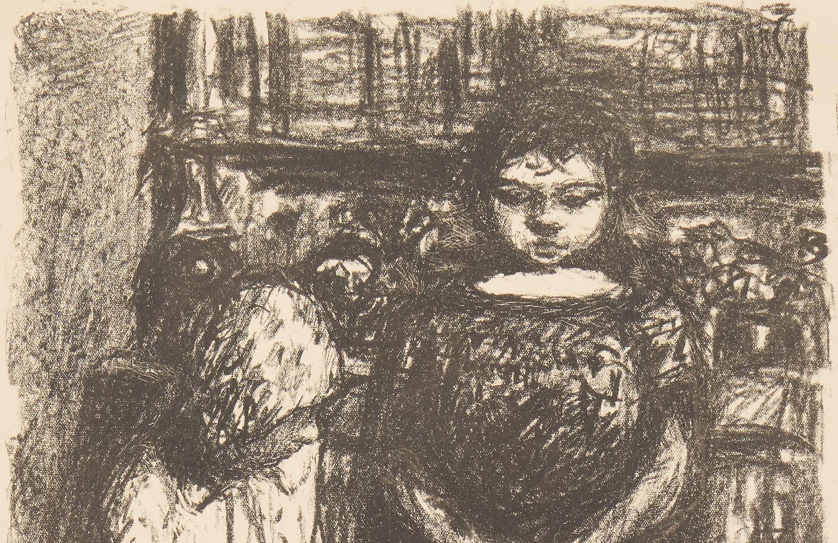 Lot 560: Pierre Bonnard Lithograph, Le Menu