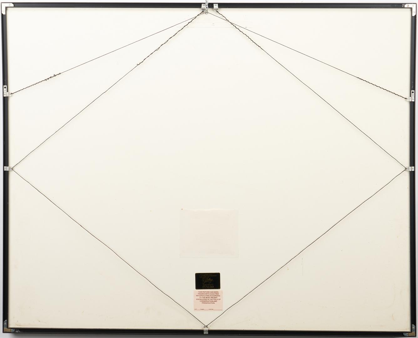 Lot 568: Ranier Fetting Silkscreen w/ Catalog