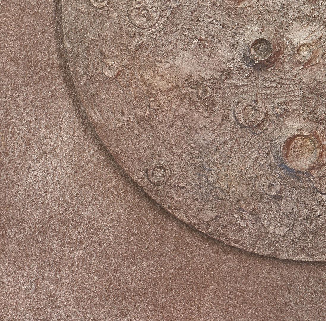 Lot 574: C. Kermit Ewing Painting Moon Shot #2 & Poster