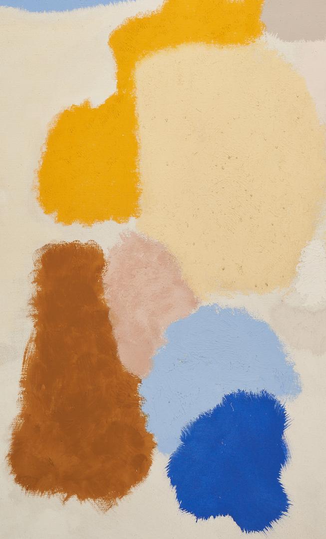 Lot 589: John Ferren O/C Abstract Painting, Summer