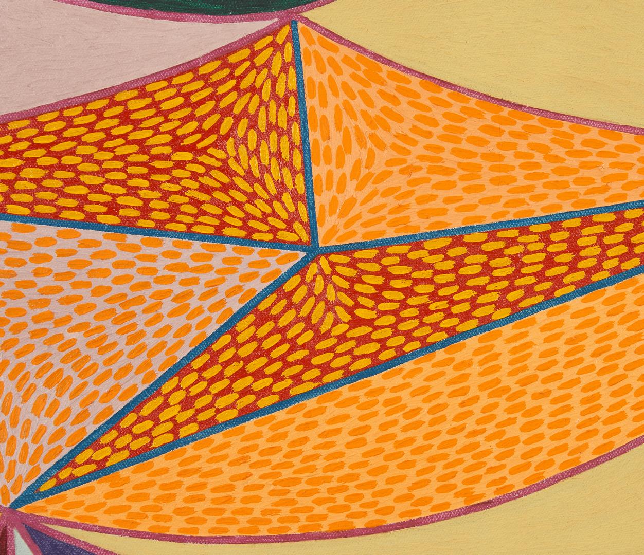 Lot 592: Douglas Denniston Abstract O/C, Composition No. 34