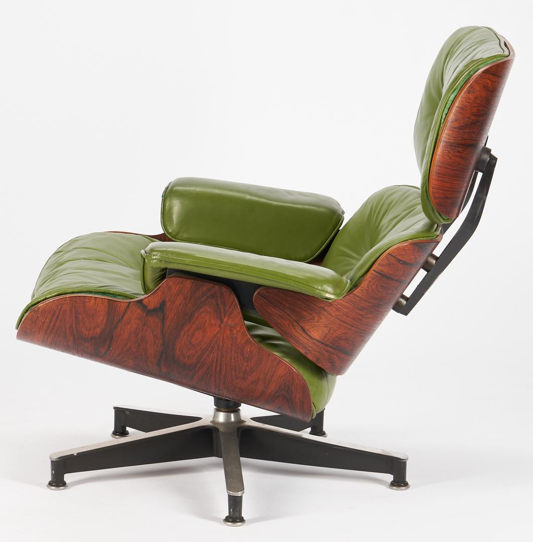 Lot 606: Eames Lounge Chair & Ottoman by Herman Miller