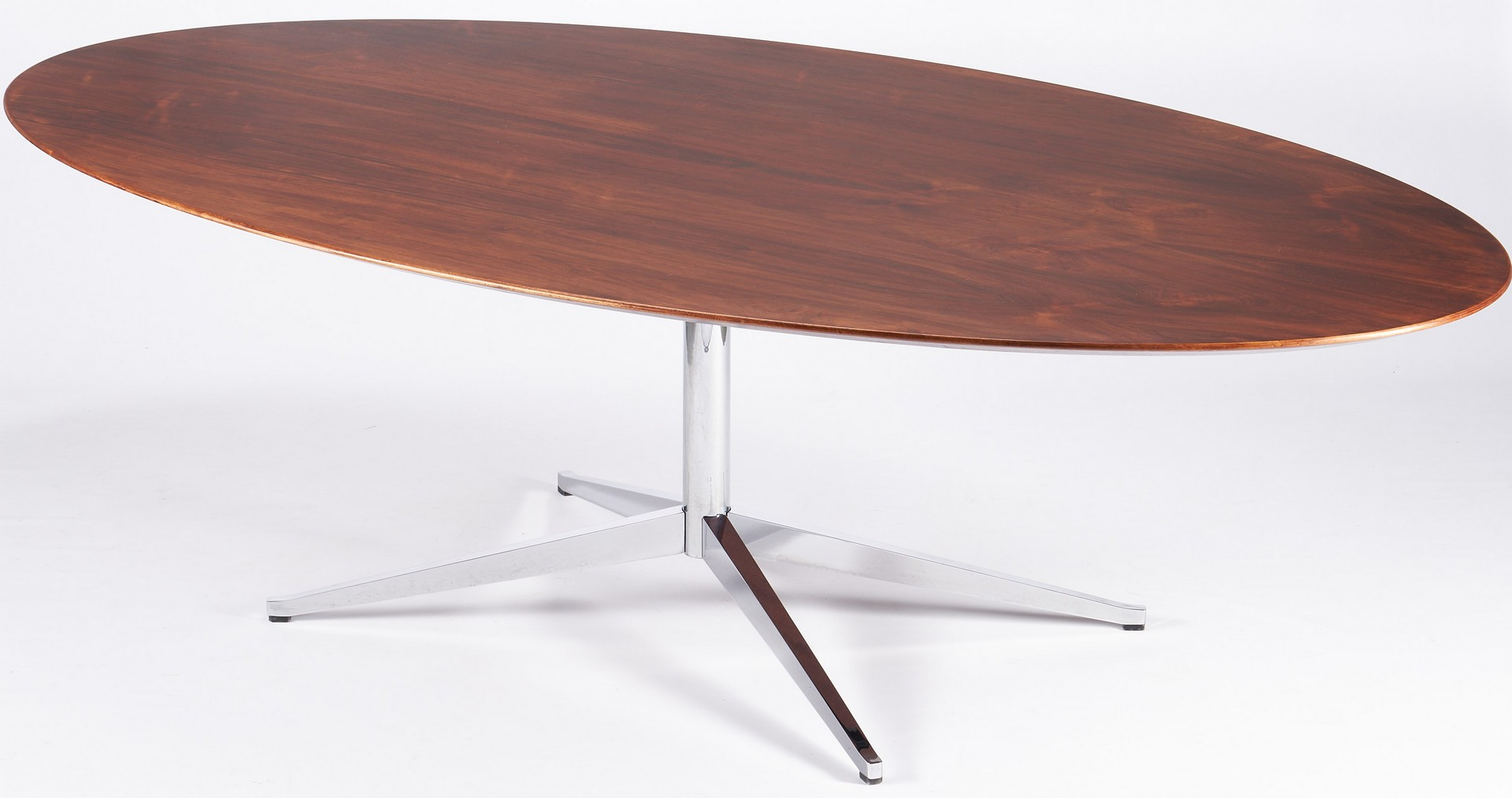 Lot 608: Florence Knoll Oval Table Desk, Dining or Conference Table