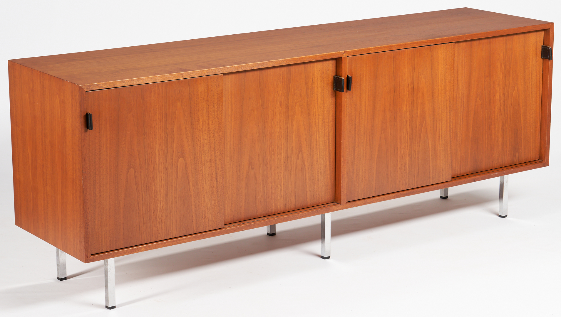 Lot 610:  Florence Knoll Walnut Credenza