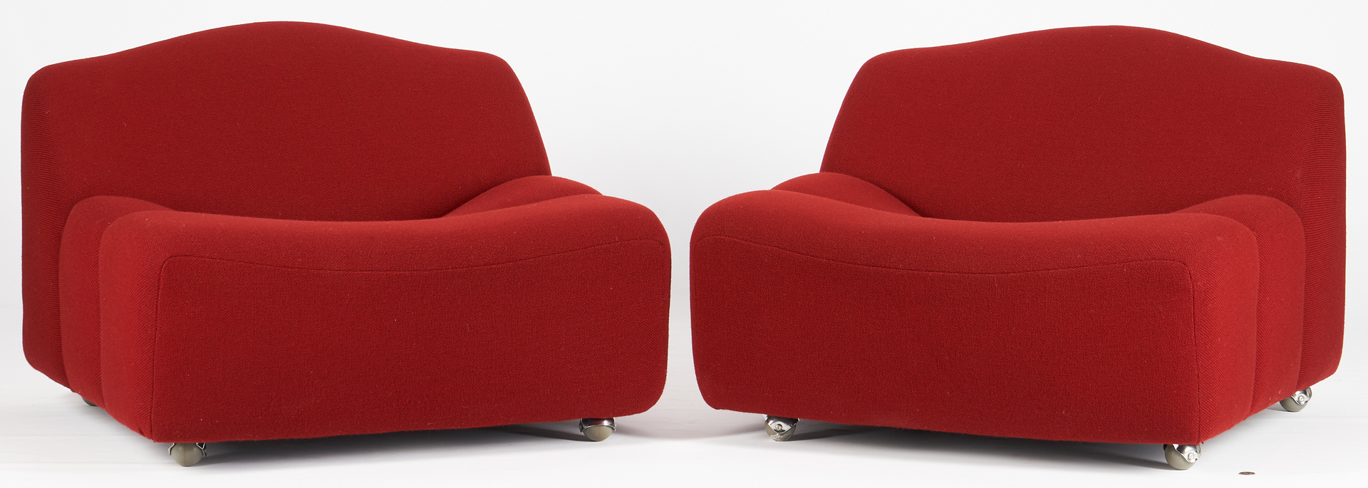 Lot 615: Pr. Pierre Paulin ABCD Chairs for Artifort