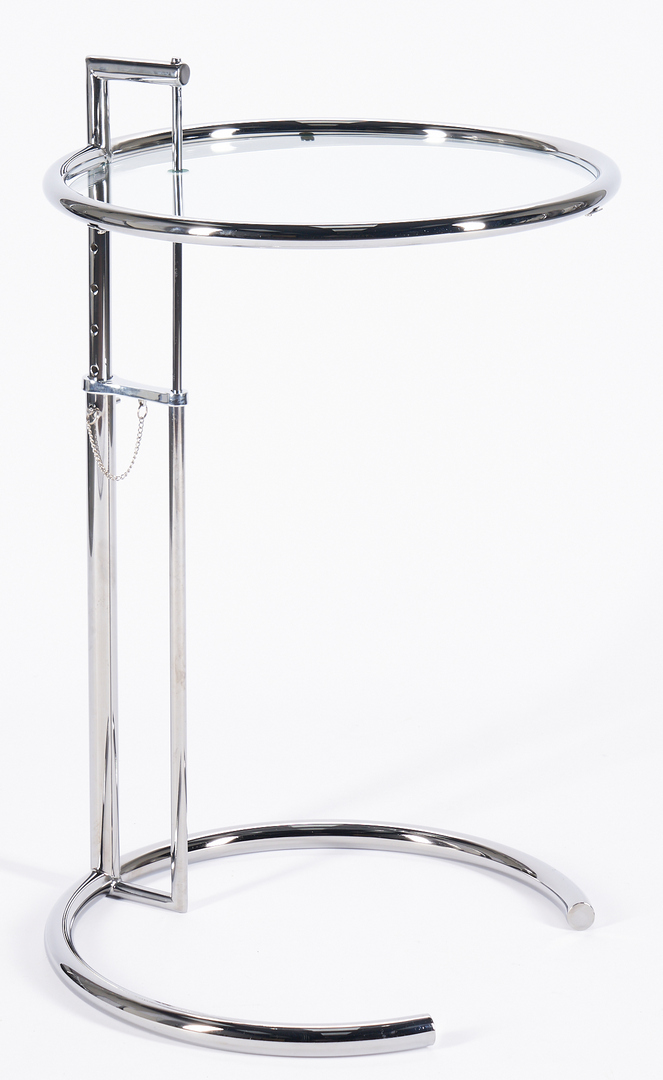 Lot 617: Set of 3 Eileen Gray Style 'E-1027' Side Tables