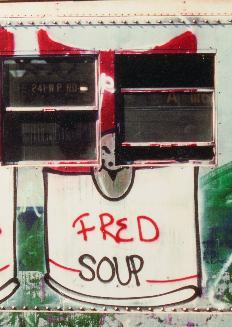 Lot 621: Henry Chalfant, Campbell's Soup by Fred Brothwaite, 1980
