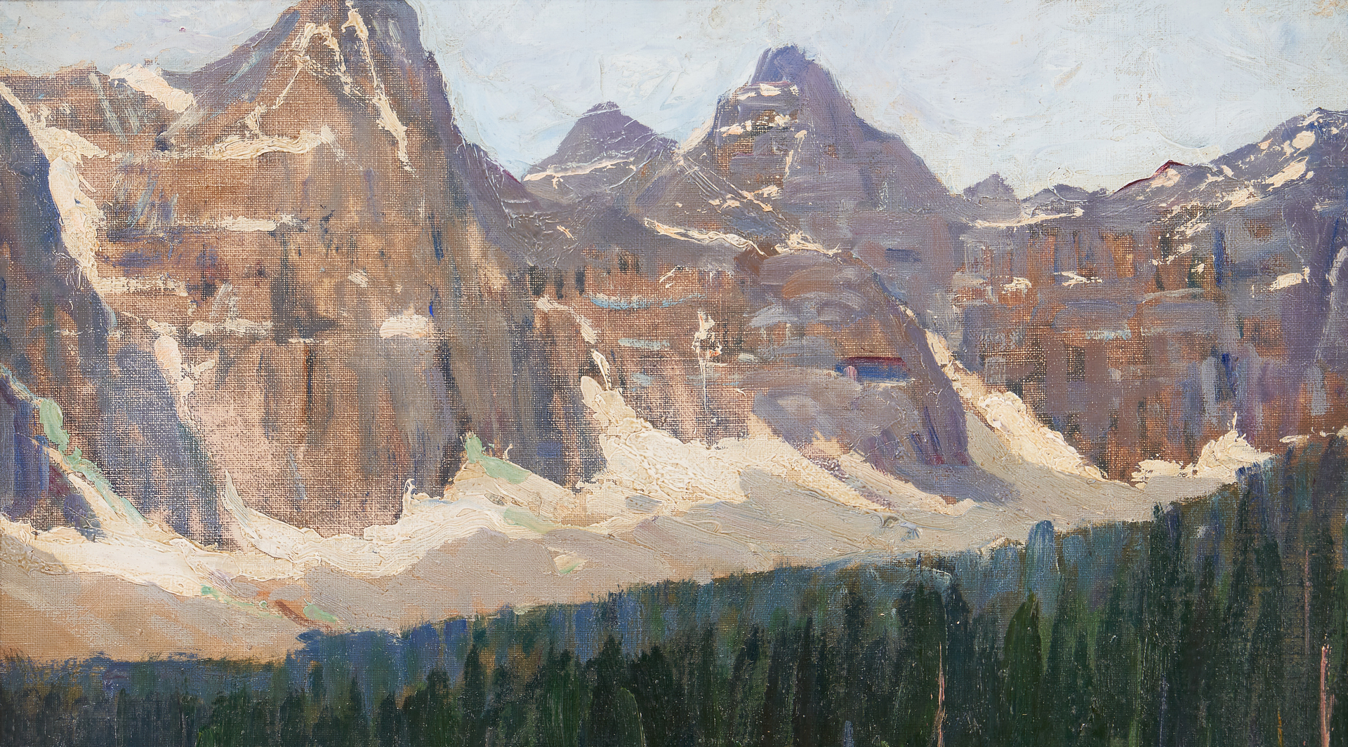 Lot 625: 2 Matthew A. Daly O/B, Canadian Landscape Paintings