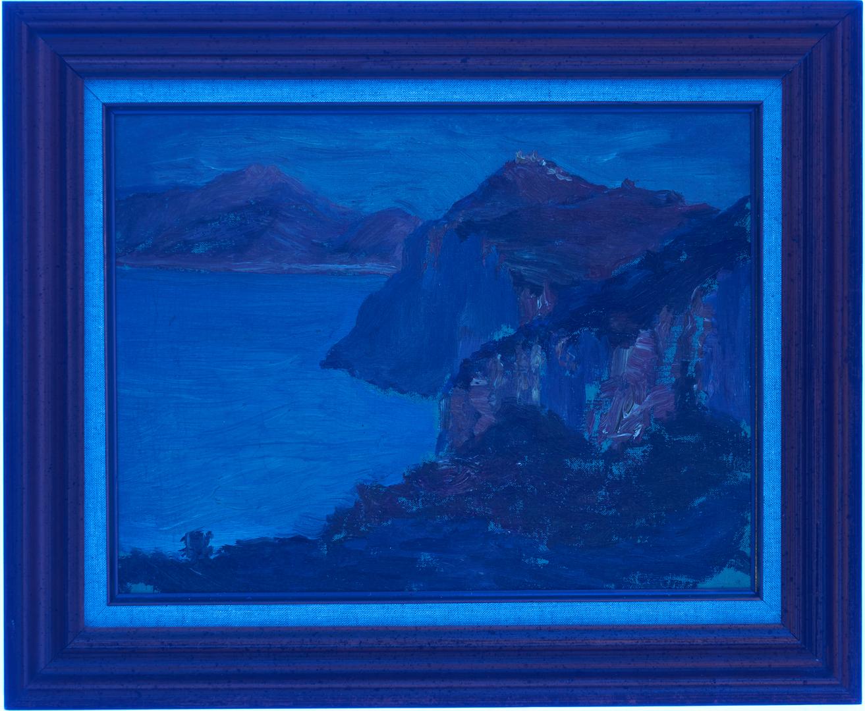 Lot 626: 2 Edward Kingsbury Coastal Landscapes, Estate Stamps