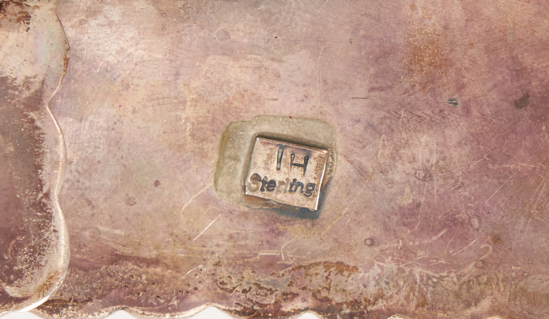Lot 631: Native American Navajo Needle Point Concho Belt, Ivan Howard