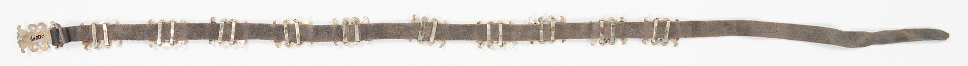 Lot 634: 2 Native American Silver & Turquoise Concho Belts, incl. Benson Yazzie