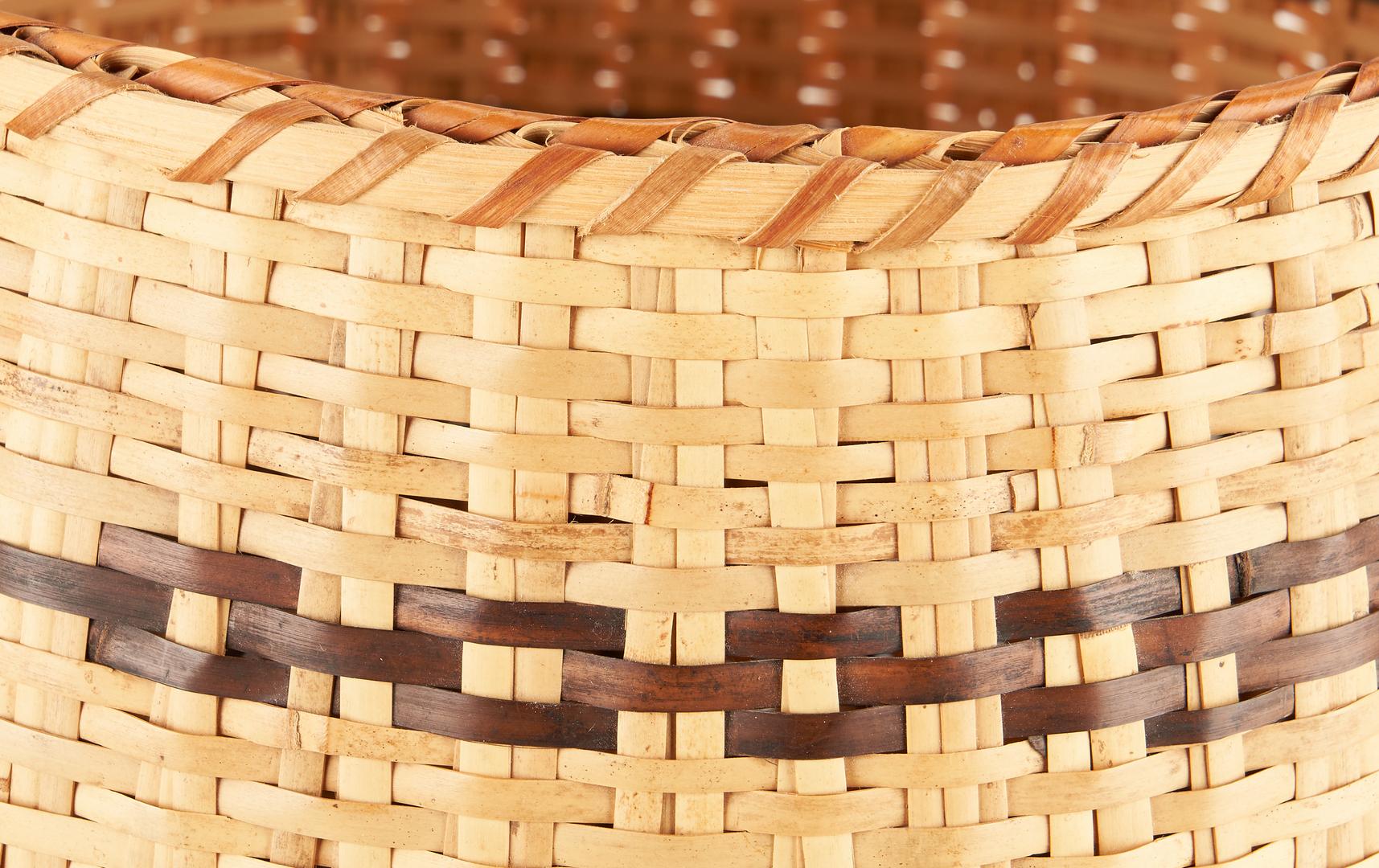Lot 656: 3 Native American Cherokee Baskets