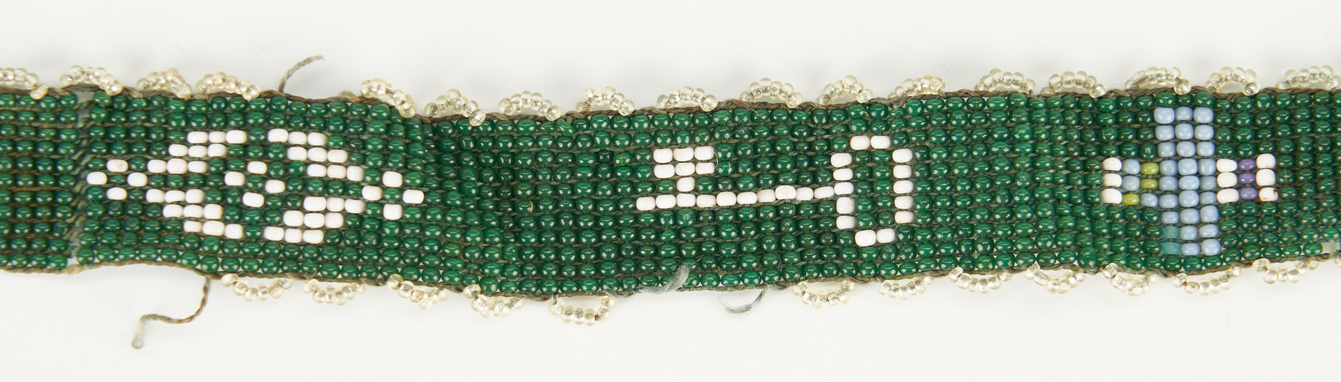 Lot 665: An 1834 Beaded Watch Chain with Provenance