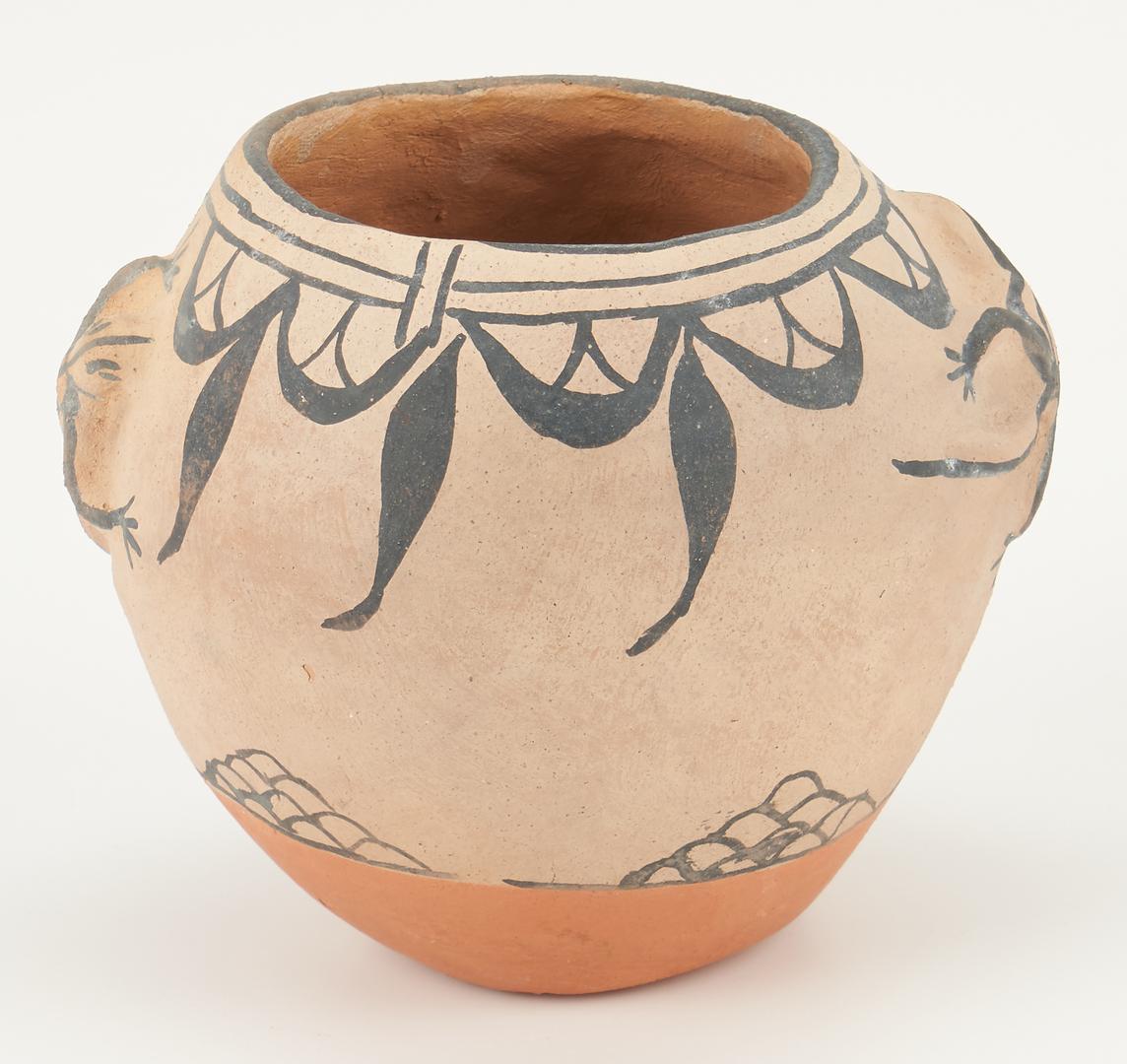 Lot 669: 2 Southwest Native American Pottery Pieces, Gates & Romero