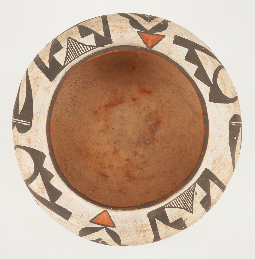 Lot 670: 2 Early Native American Acoma Pueblo Pottery Items