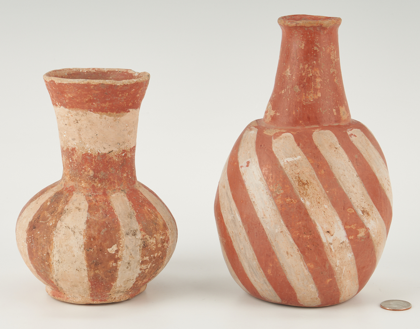 Lot 680: 2 Quapaw Mississippian Culture Pottery Items