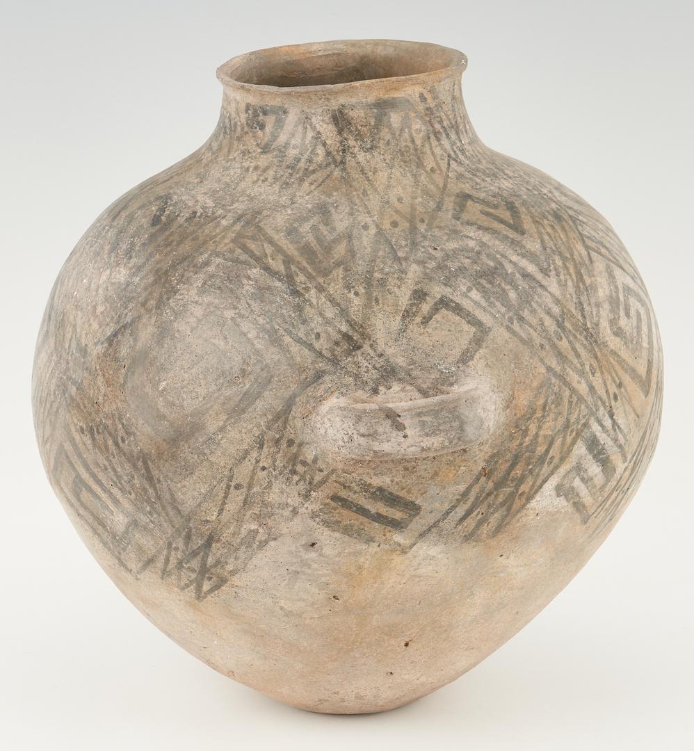 Lot 684: Large Native American Anasazi Olla with Handles