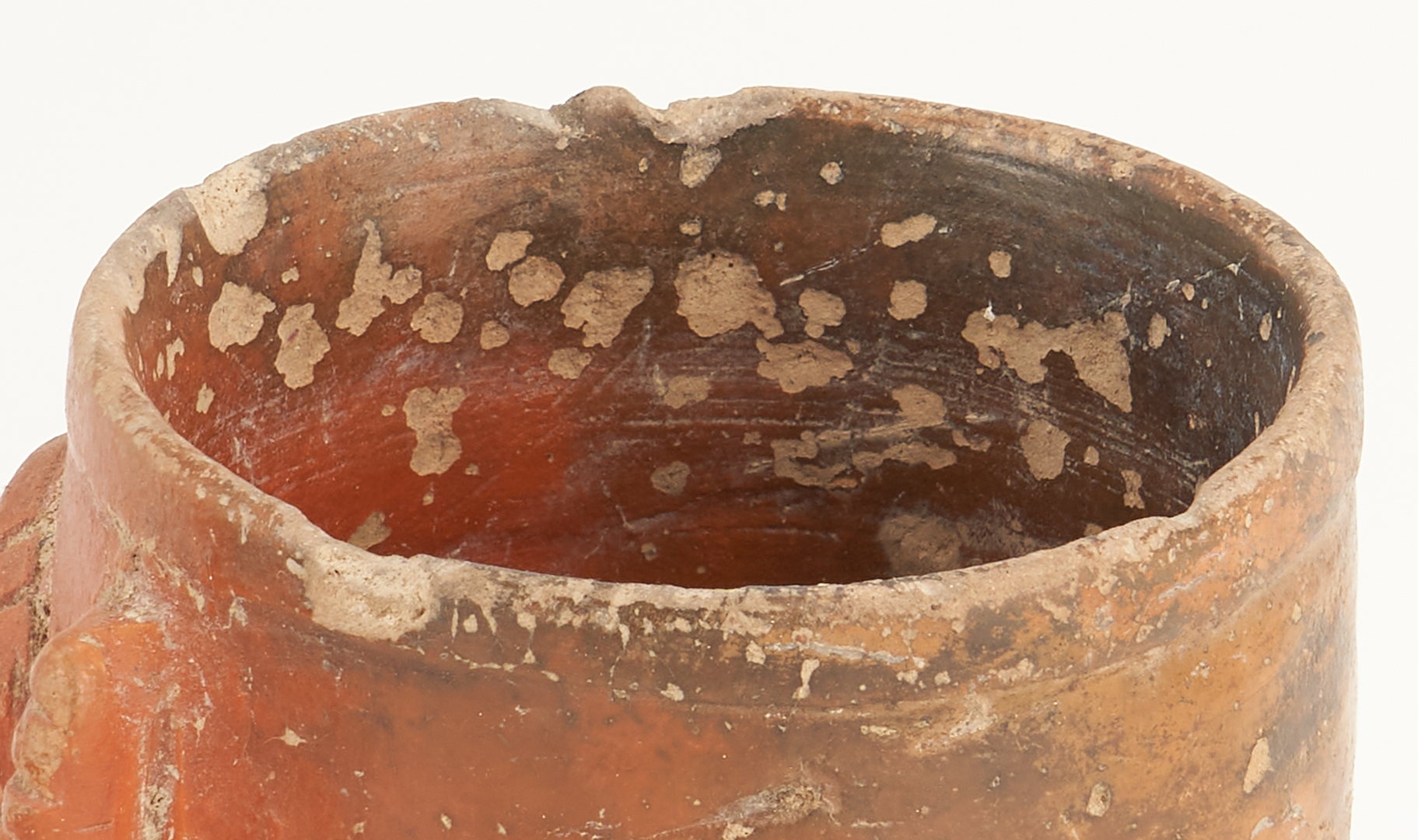 Lot 693: 5 Panamanian Cocle Pottery Items, incl. Animal Effigy