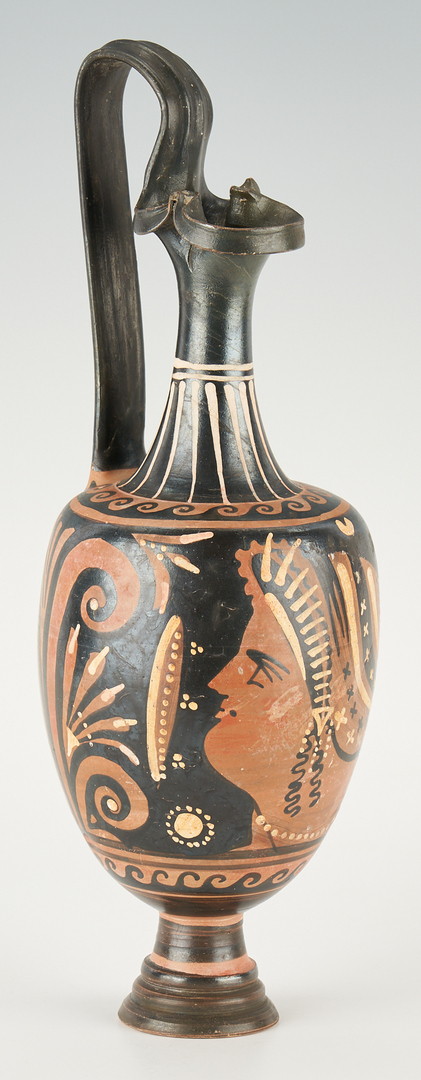 Lot 697: 2 Ancient Greek Red-Figure Pottery Vessels, ex-Royal Athena Galleries