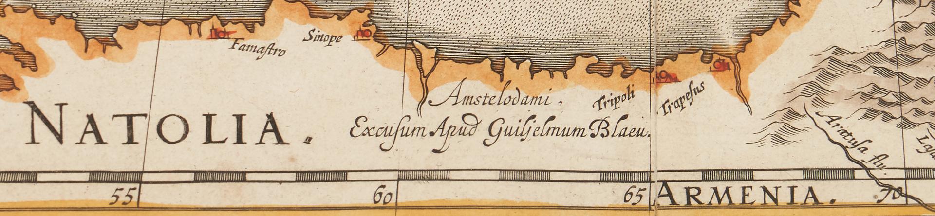 Lot 709: TABULA RUSSIAE, J. Blaeu, ca. 1643