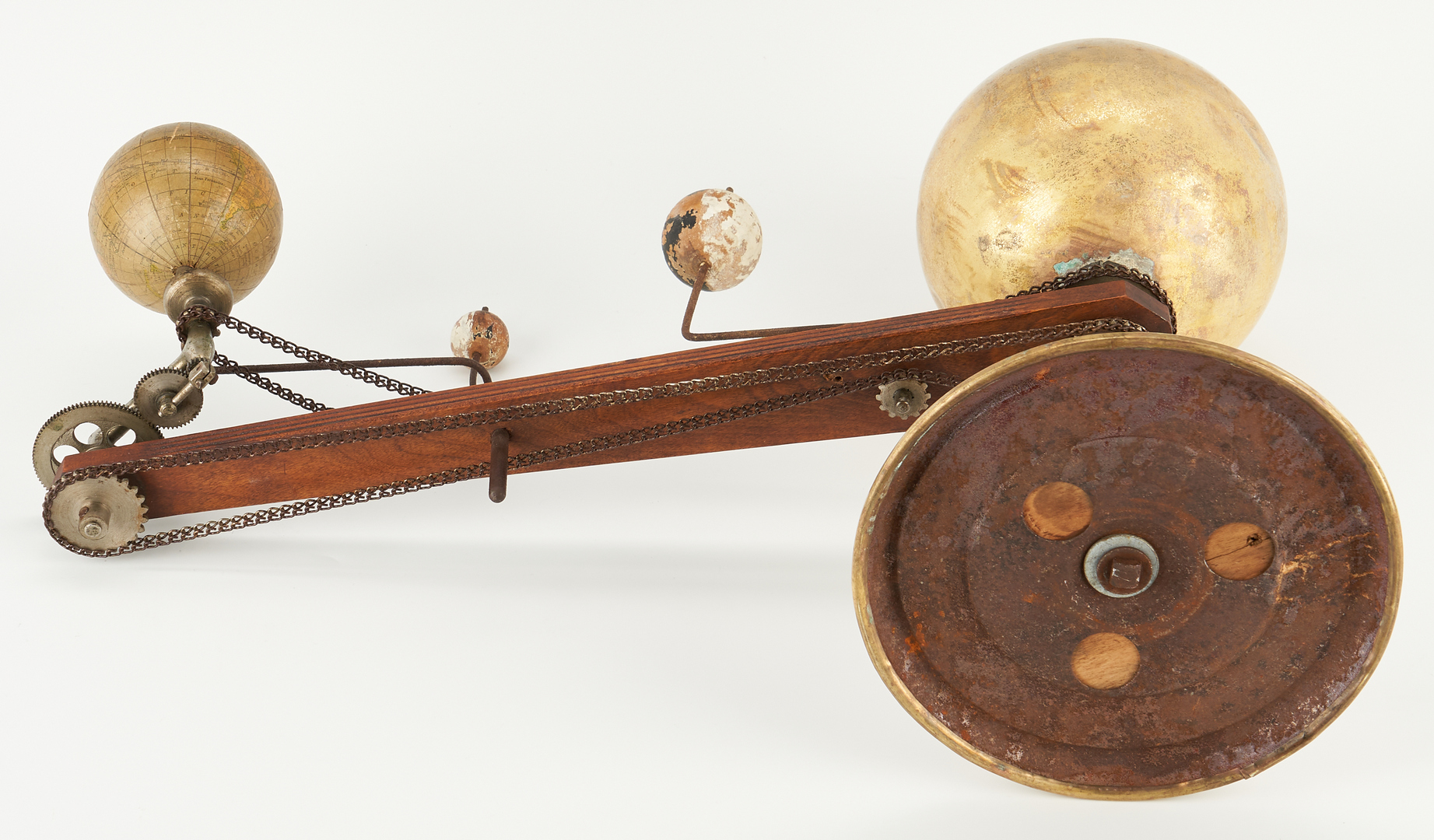 Lot 715: Early Trippensee Planetarium Model Orrery