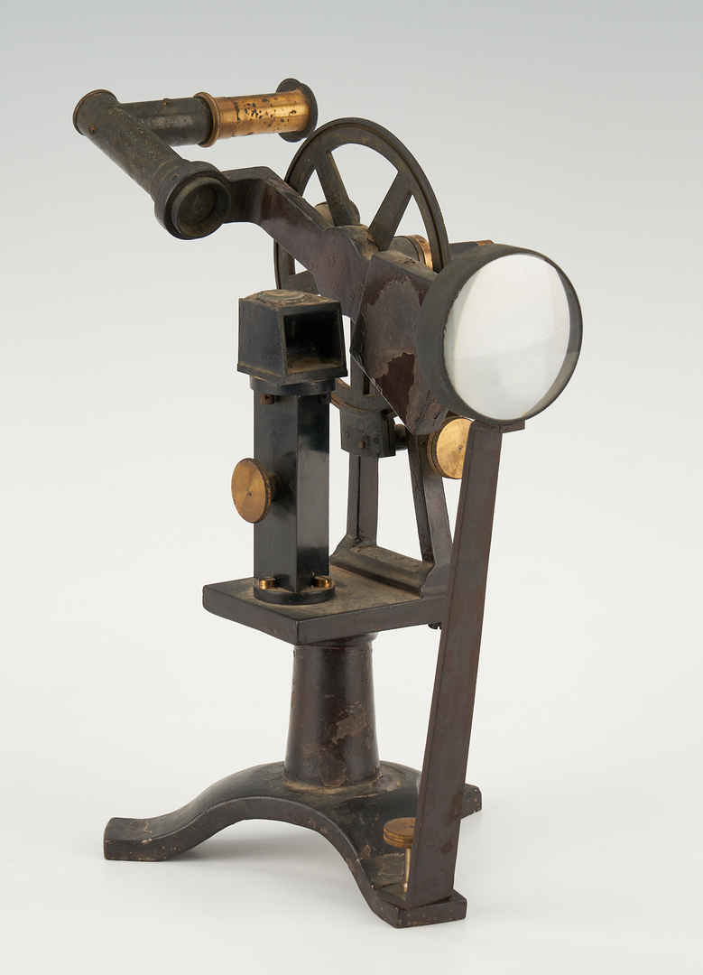 Lot 716: 2 Scientific Instruments, incl. Wolz Pulfrich Type Refractometer