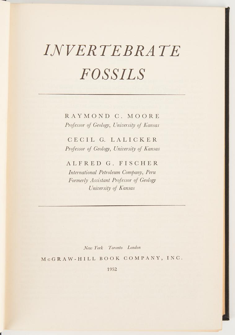 Lot 722: 10 Fossil, Paleontology, & Natural History Books