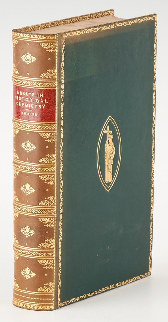 Lot 723: Group of 11 Science Books, incl. Dickinson Physica, 1702