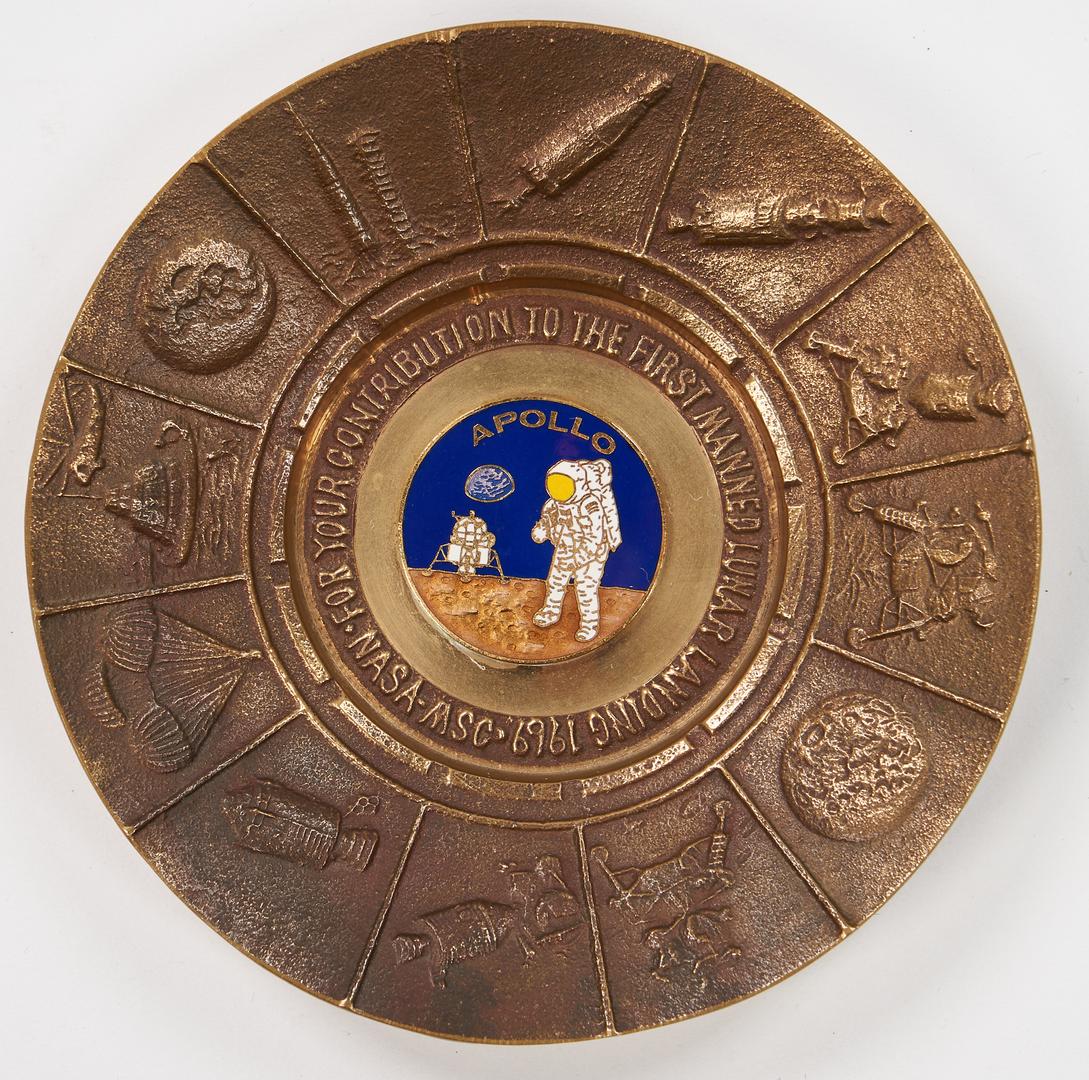 Lot 727: NASA Apollo Program Archive, incl. Signed Photo
