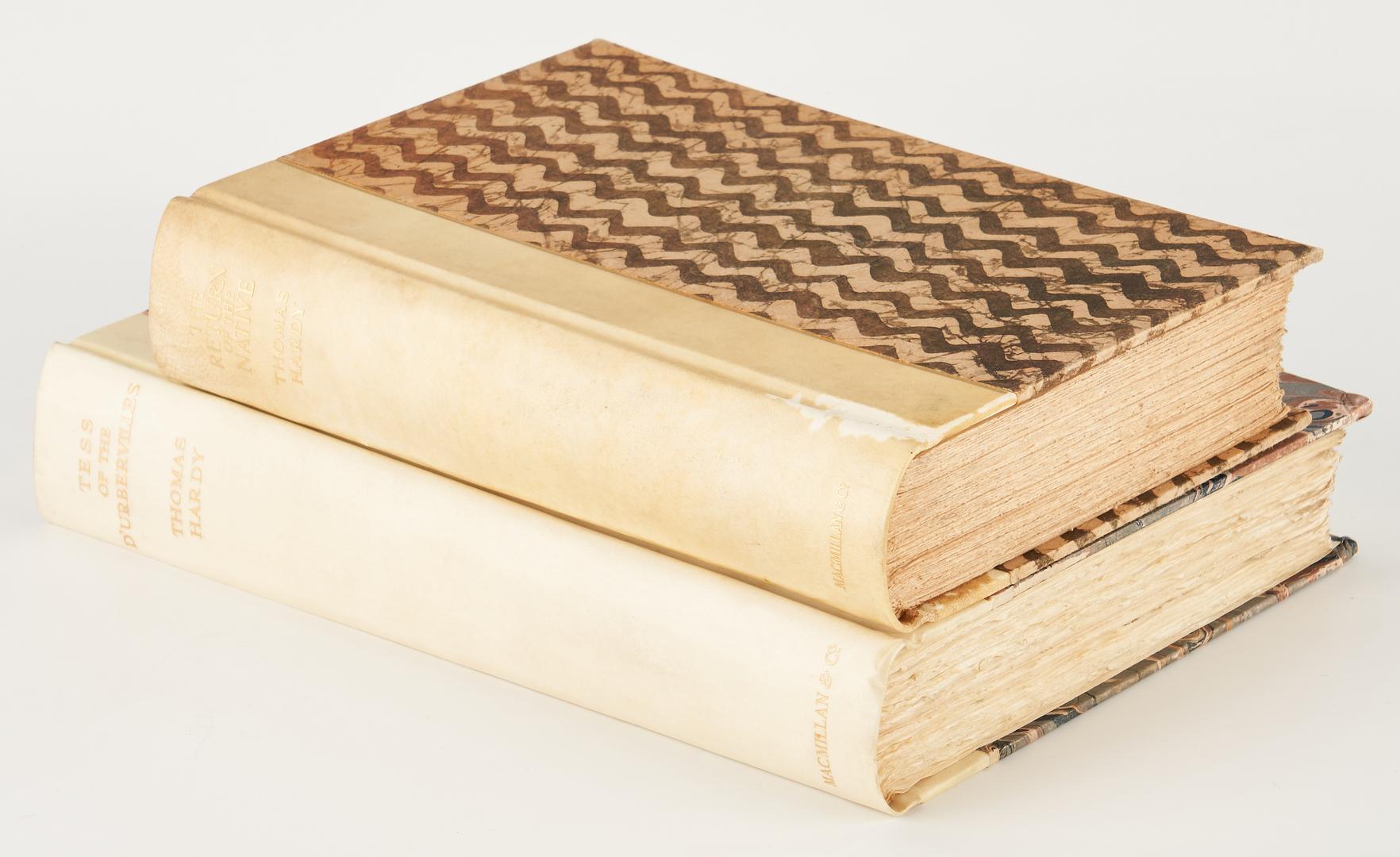 Lot 732: 2 Thomas Hardy Books, incl. Author Signed TESS, 1926