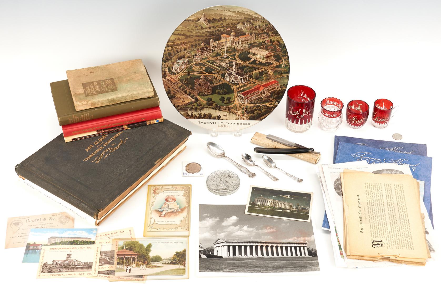 Lot 739: TN Centennial Exposition Archive, 31 items