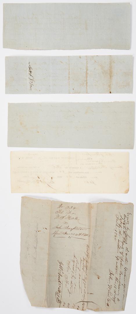Lot 740: Philip S. Hale Archive, Hawkins Cnty., TN
