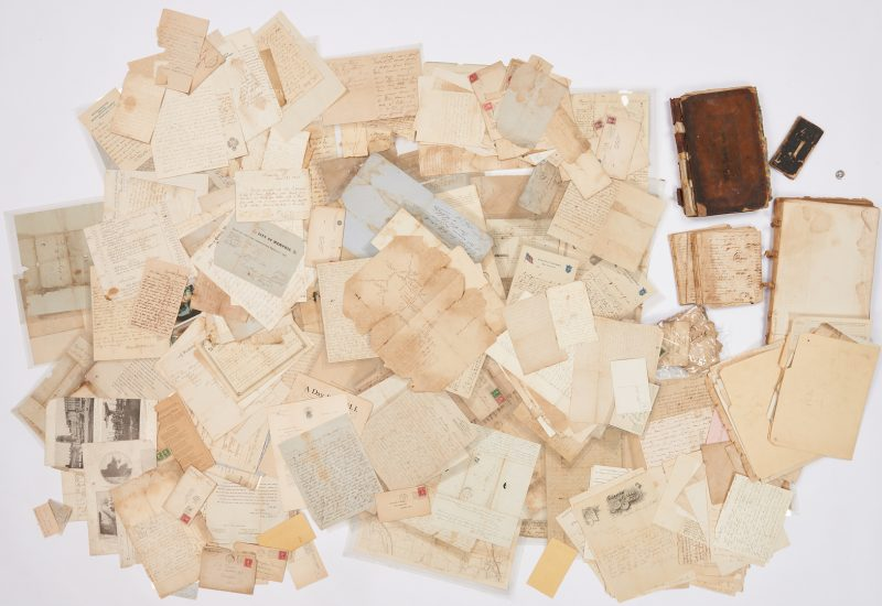 Lot 748: Archive: Wm. Vance of Memphis, TN, Slave and Lincoln Assassination interest