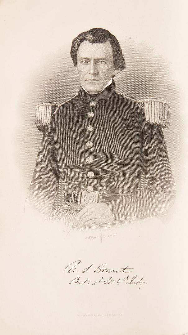 Lot 750: 4 Civil War Related Personal Memoirs, incl. Grant, Sheridan