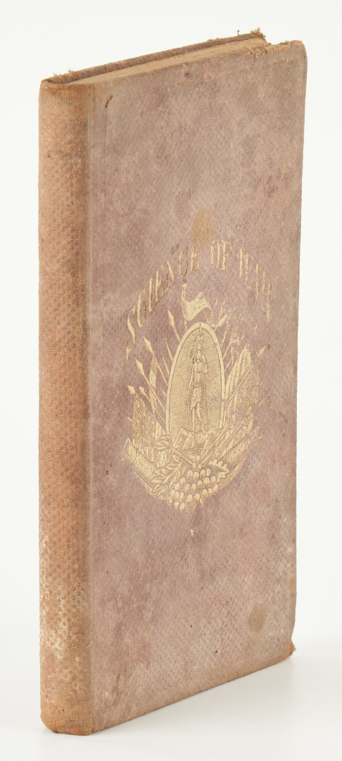 Lot 753: Civil War era Photos & Book Archive, 3 items