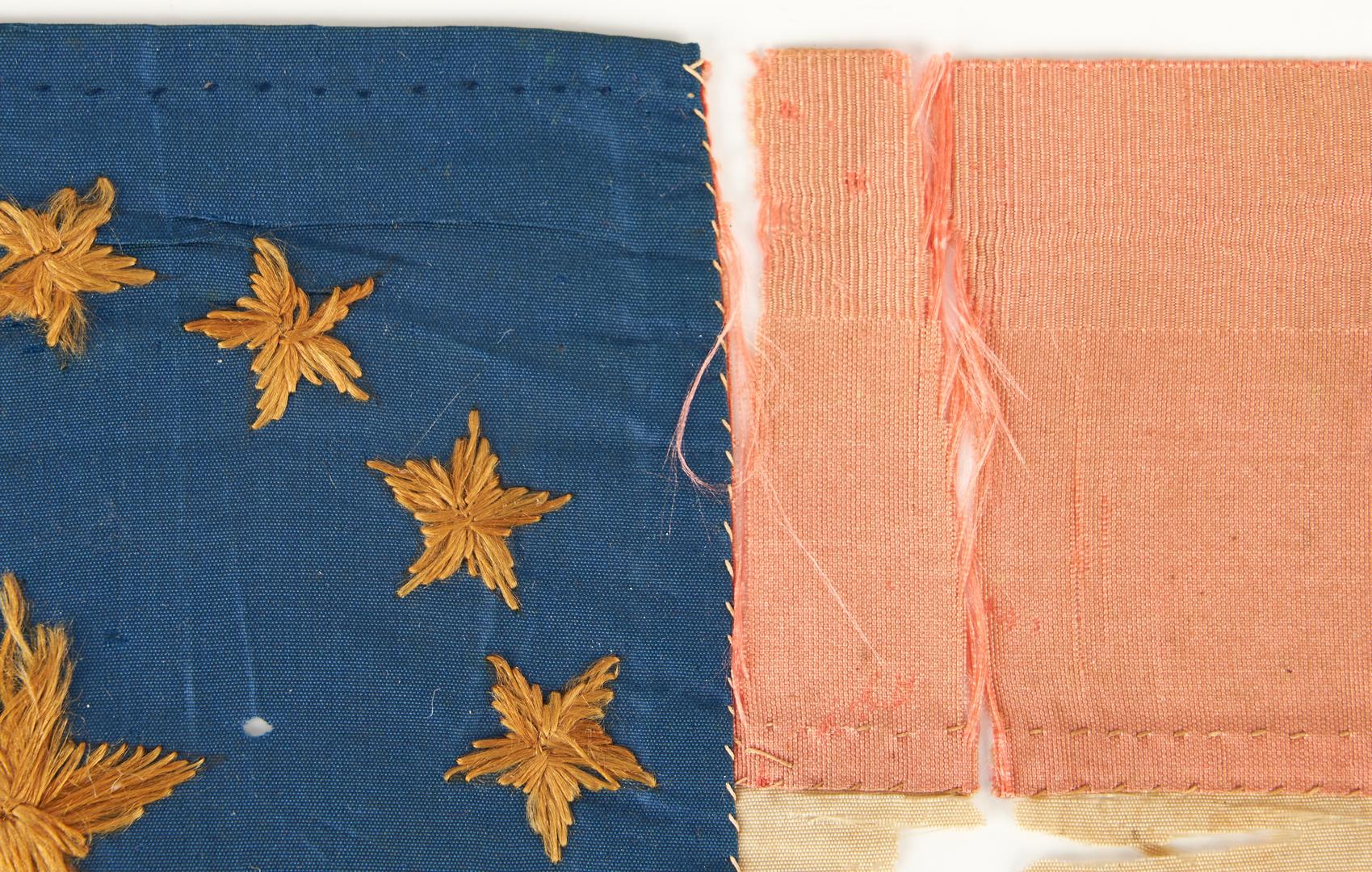 Lot 754: John Hunt Morgan related Bible Flag + 4 CSA Covers