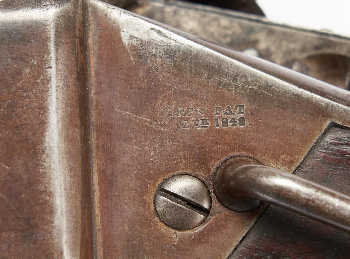 Lot 758: Civil War Sharps New Model 1863 Carbine, .52 cal.