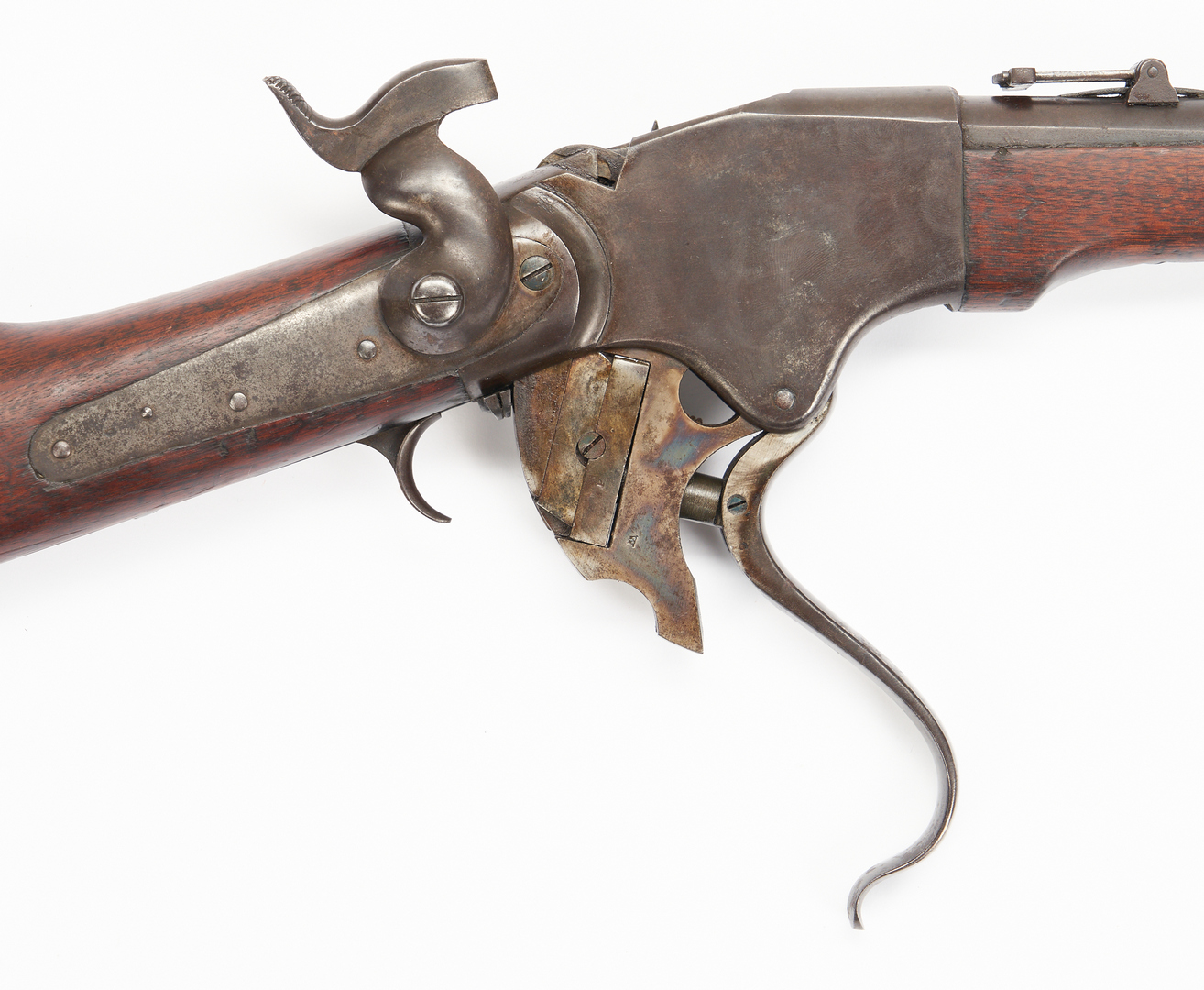 Lot 759: Burnside Contract Model 1865 Spencer Repeating Carbine, .52 cal.