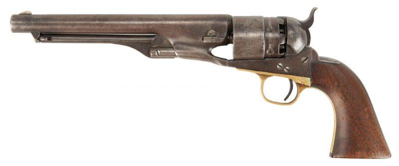 Lot 760: Civil War Colt Army Model 1860 Revolver, 44 cal.