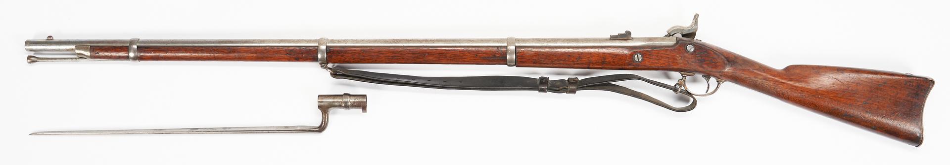 Lot 761: Springfield Model 1863 Type II Rifle w/ Bayonet